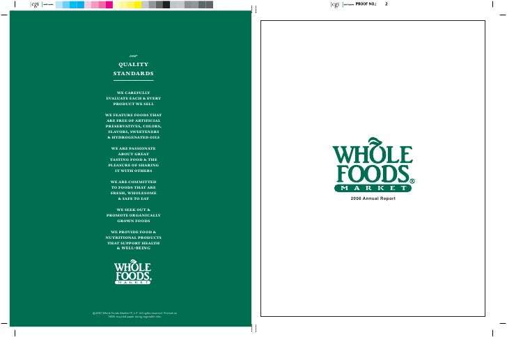 whole food market ar06