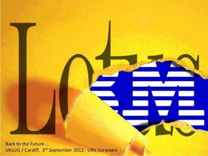 UKLUG 2012 - Uffe's keynote
