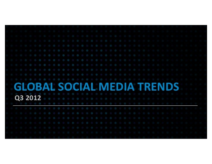Global Social Media Trends Report