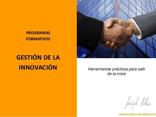 121028 dossier formación innovación en servicios
