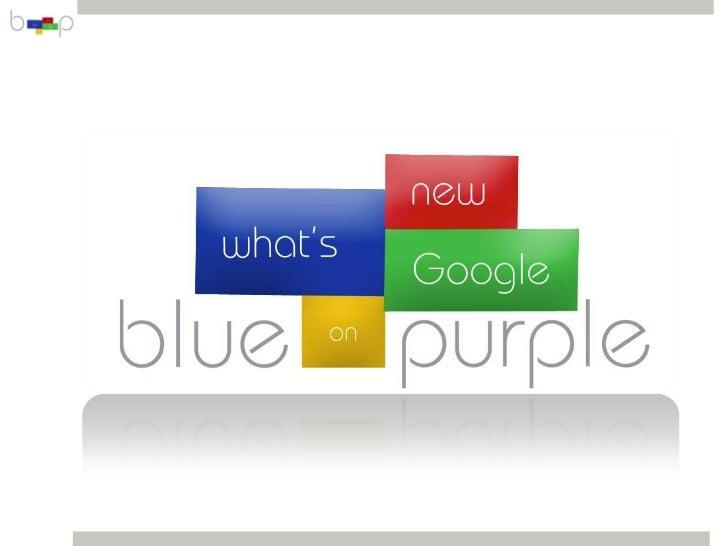 What's New on Google - September 2012 Session
