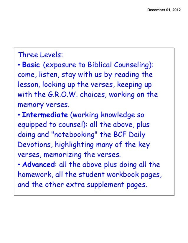 BC&D-3: Bible Marking Guide