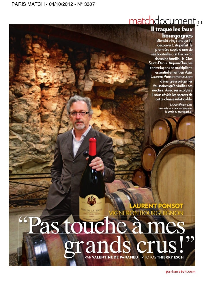 PARIS MATCH - 04/10/2012 - N° 3307                                                 matchdocument 31                       ...