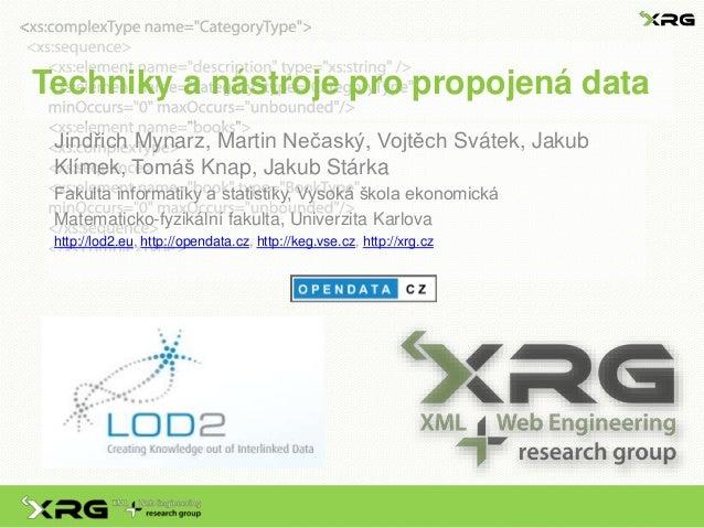 Techniky a nástroje pro propojená data (Linked Data)