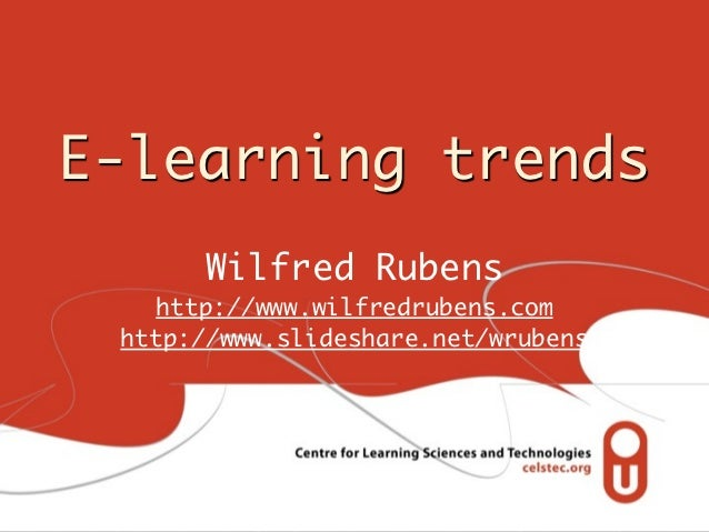 121018 (wr) trends e learning