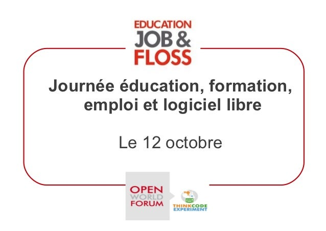 Education, Jobs & FLOSS - Panel discussions