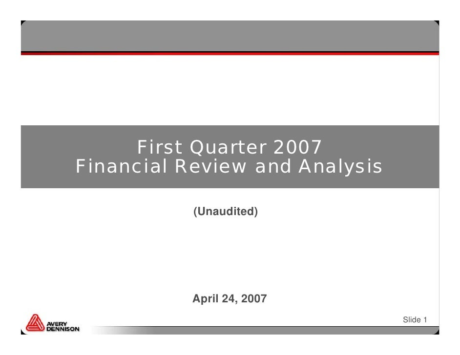 1Q_2007_Financial_Review_Analysis