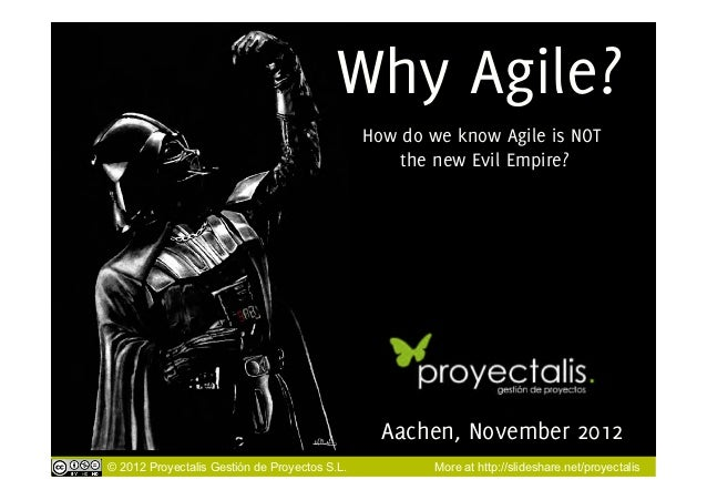 Why Agile?                                               How do we know Agile is NOT                                      ...
