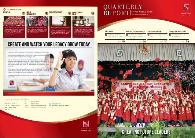 Annual Report Q2, 2012
