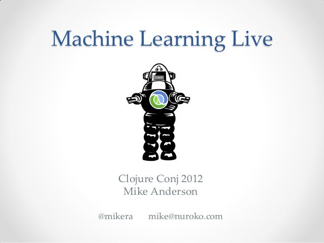 Machine Learning Live
