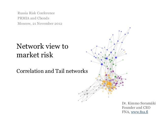 Russia Risk ConferencePRMIA and CbondsMoscow, 21 November 2012Network view tomarket riskCorrelation and Tail networks     ...