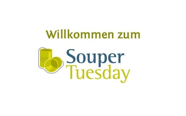Souper Tuesday - Responsive Webdesign