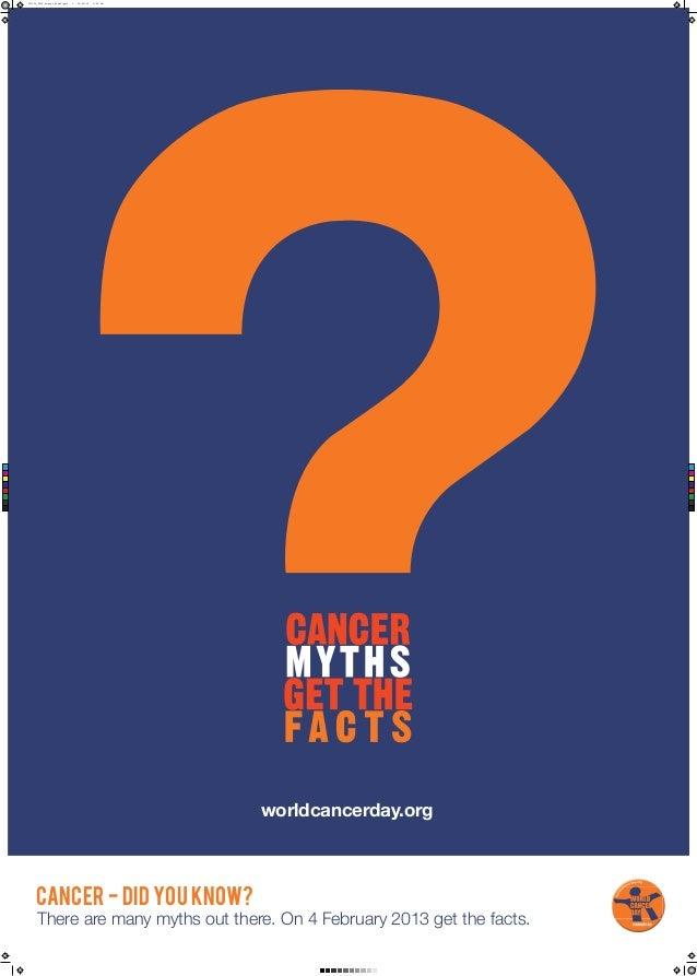 World Cancer Day 2013