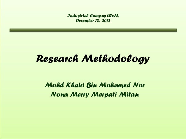 research methodology (fyp)