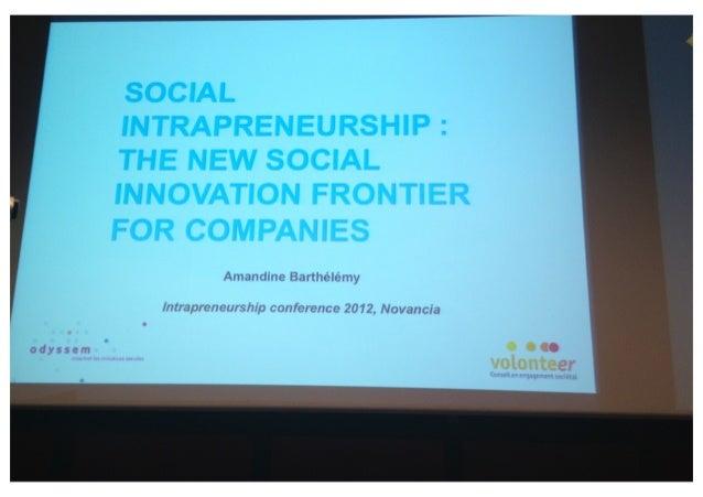 121213 intracnf heather dietz social entrepreneurship