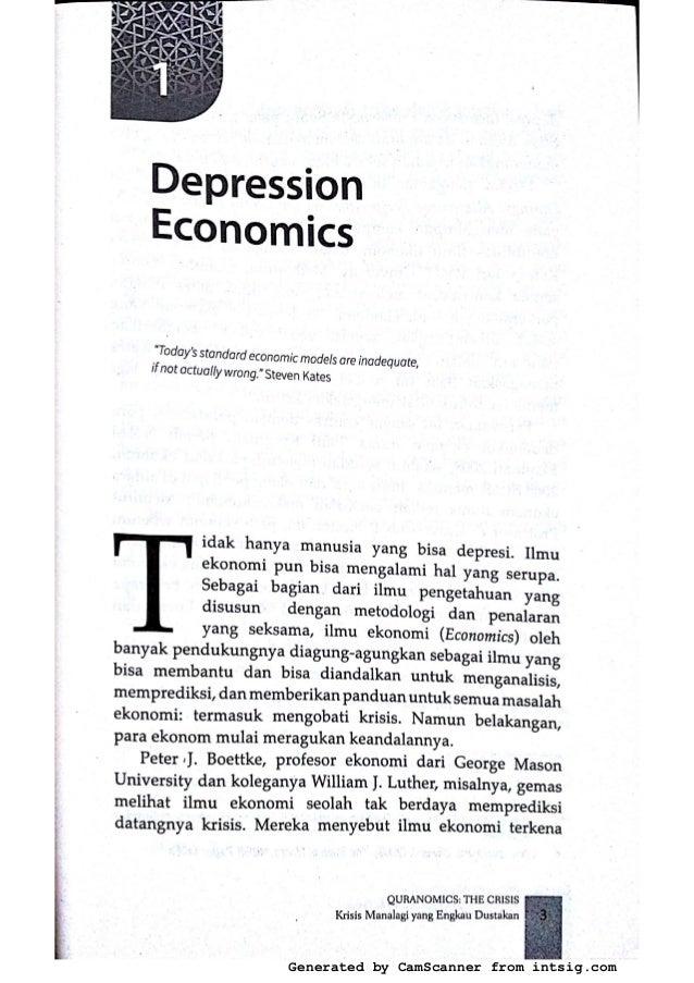 Depresion Economics