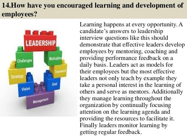 leadership interview essay