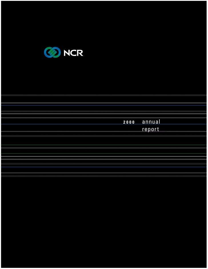 annual 2000        repor t