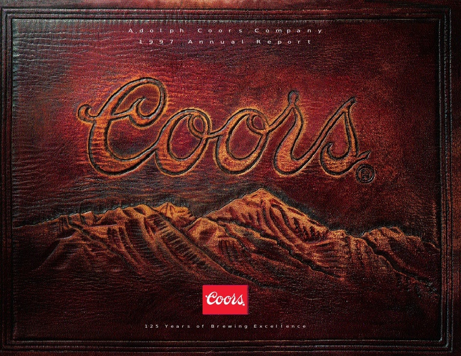 Adolph         Coors          Company  1997      Annual             Report      125   Years   of   Brewing   Excellence