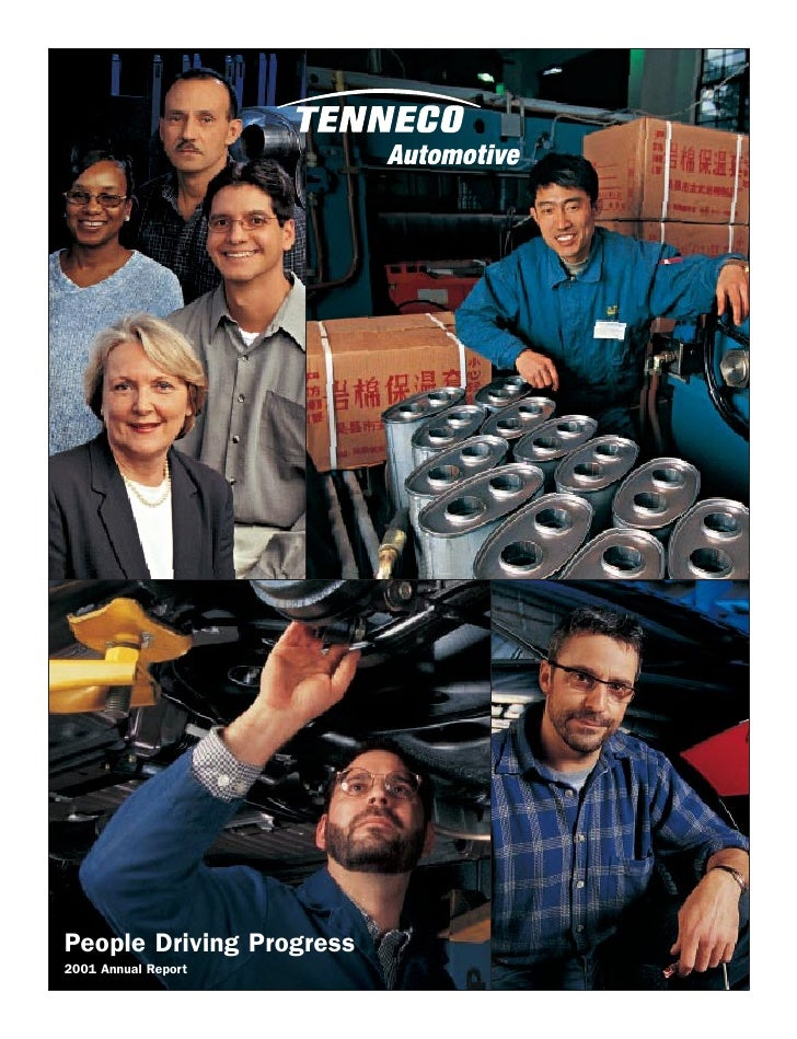 People Driving Progress 2001 Annual Report