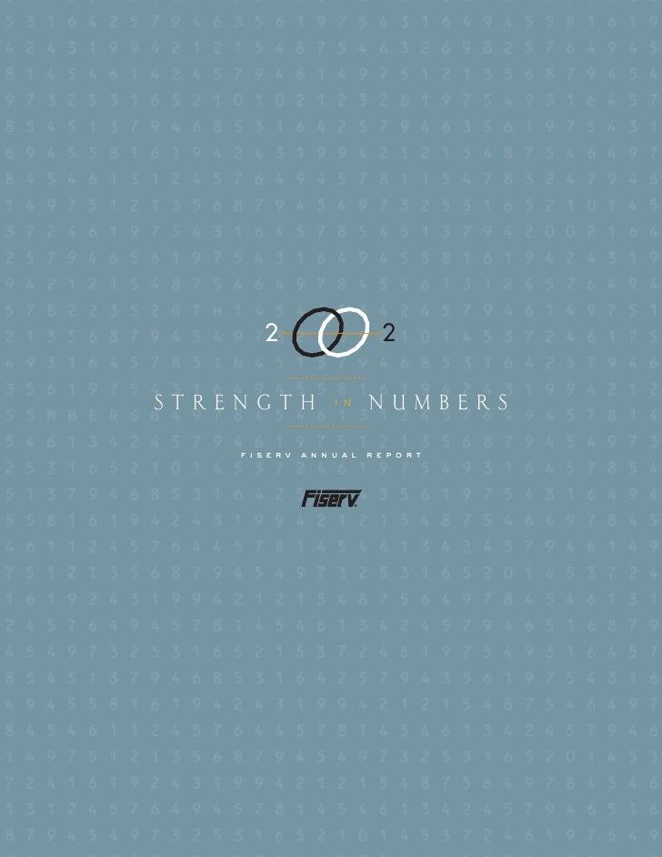 fiserv annual reports 2002