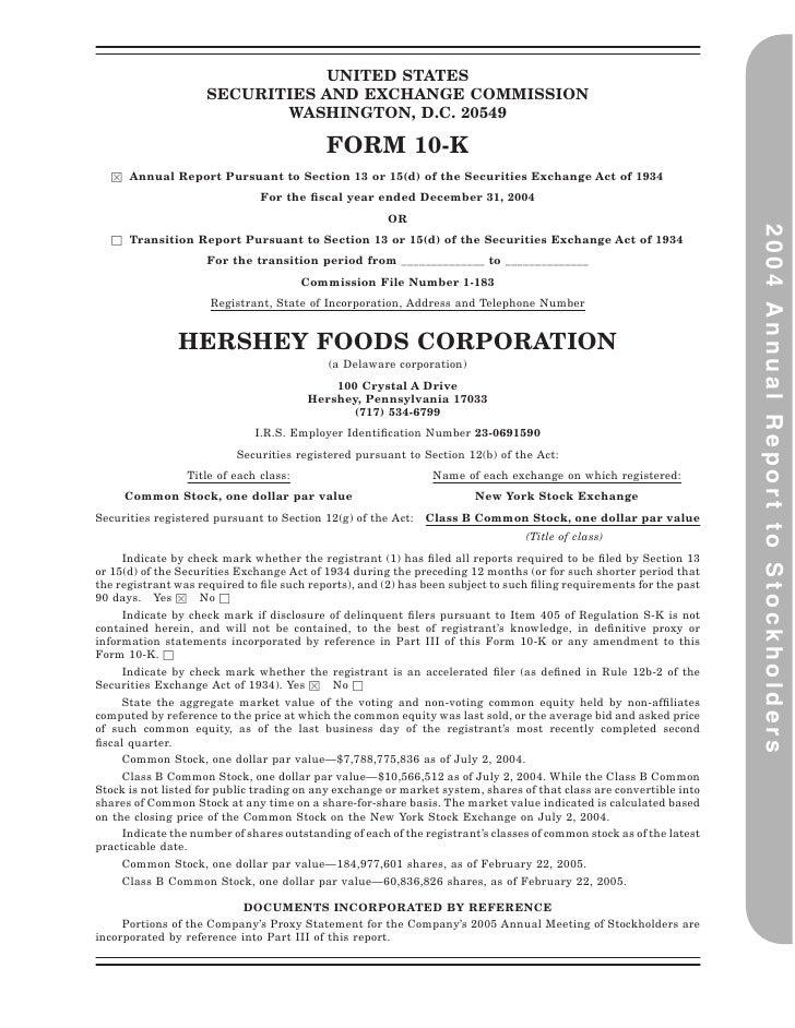 hershey  2004AR