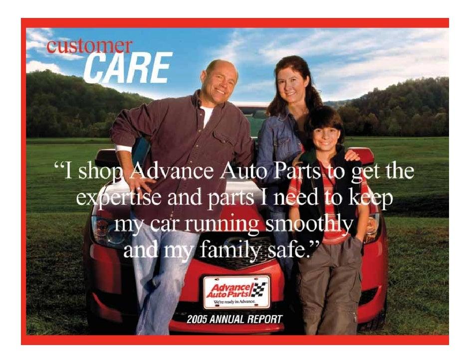 advance auto parts 2005_AR