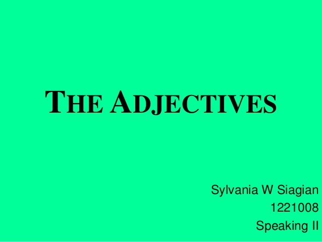 1221008 sylvania siagian lesson