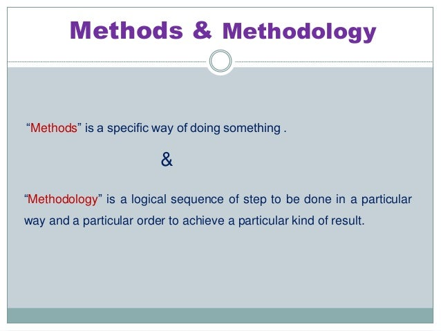 Research Methodology Hypothesis