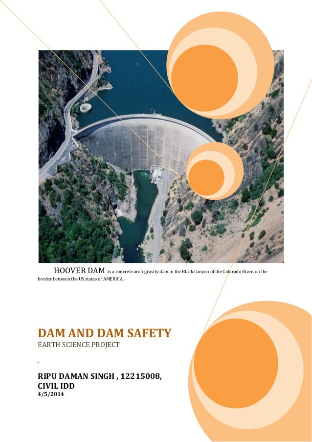 project on dam and dam safety with application of geophysics