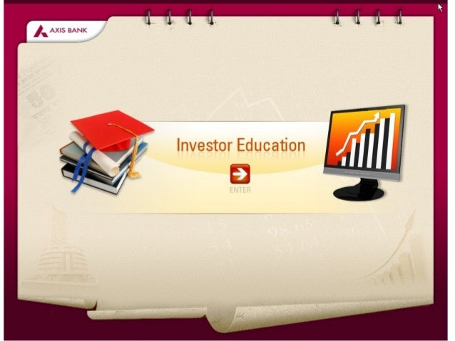Demo of an interactive CBT course to Educate employees about basic terms, concept & Process of Stock exchange