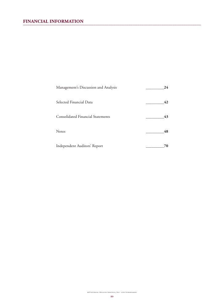 universal helath services  ar_2002_financials