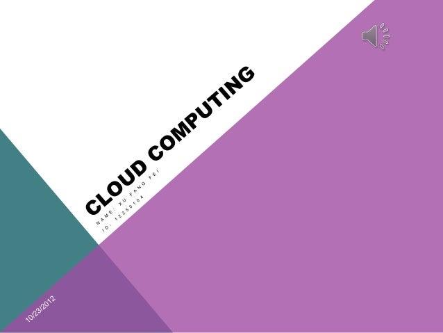 FutureIntroduction                              Survey    development  of Cloud     Applications                          ...