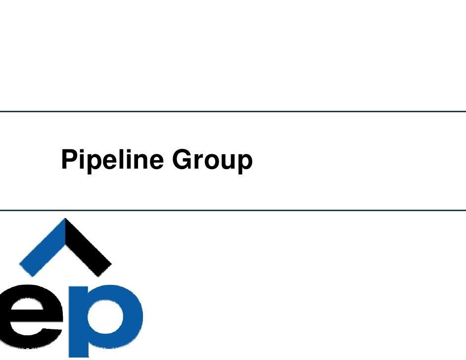 el paso  Pipelines