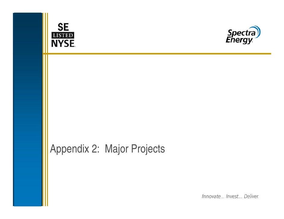 spectra energy Appendix2_2009ProjectFinal