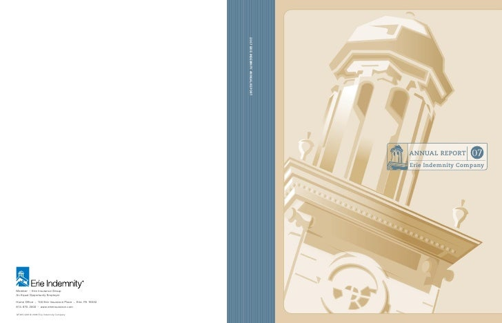 erie insurance group 2007-annual-report