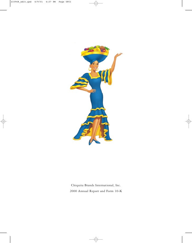 chiquita brands international 2000annual