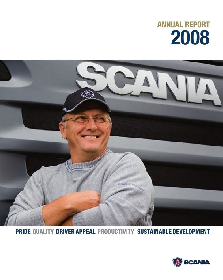 ANNUAL REPORT                                                     2008     PRIDE QUALITY DRIVER APPEAL PRODUCTIVITY SUSTAI...