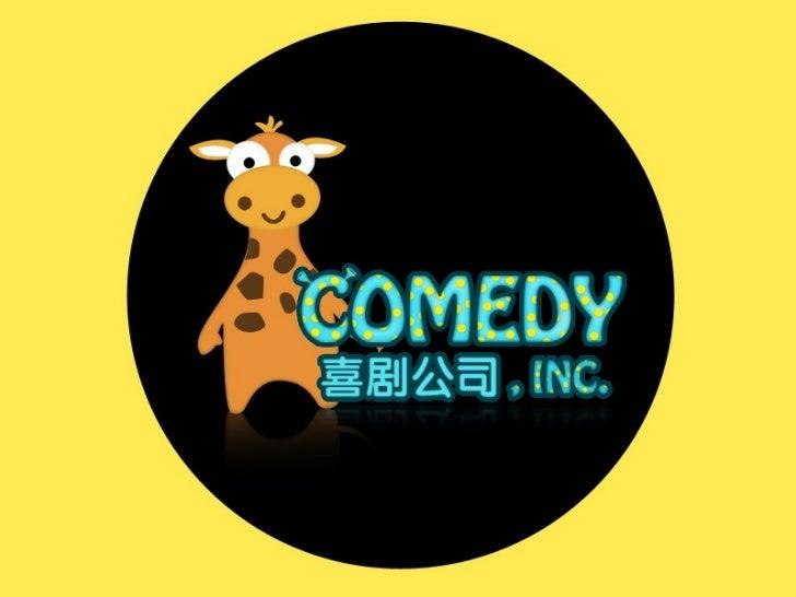 Comedy.inc - Startup Weekend Shanghai November 2011
