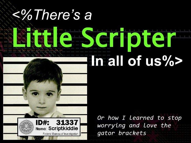 There's a Little Scripter in All of Us: Building a Web App for the Masses