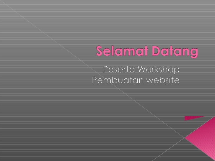 materi workshop bikin web 1