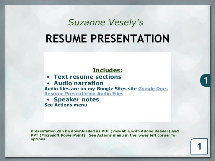 resume format  pr u00e9sentation cv oral