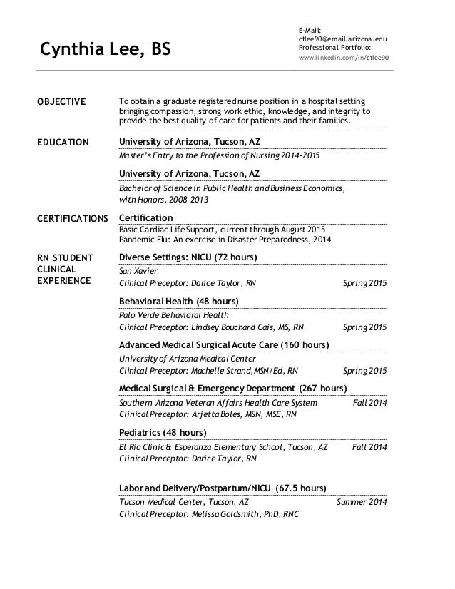 Intensive Care Unicu Rn Resume Objective. Nicu Job Description For ...