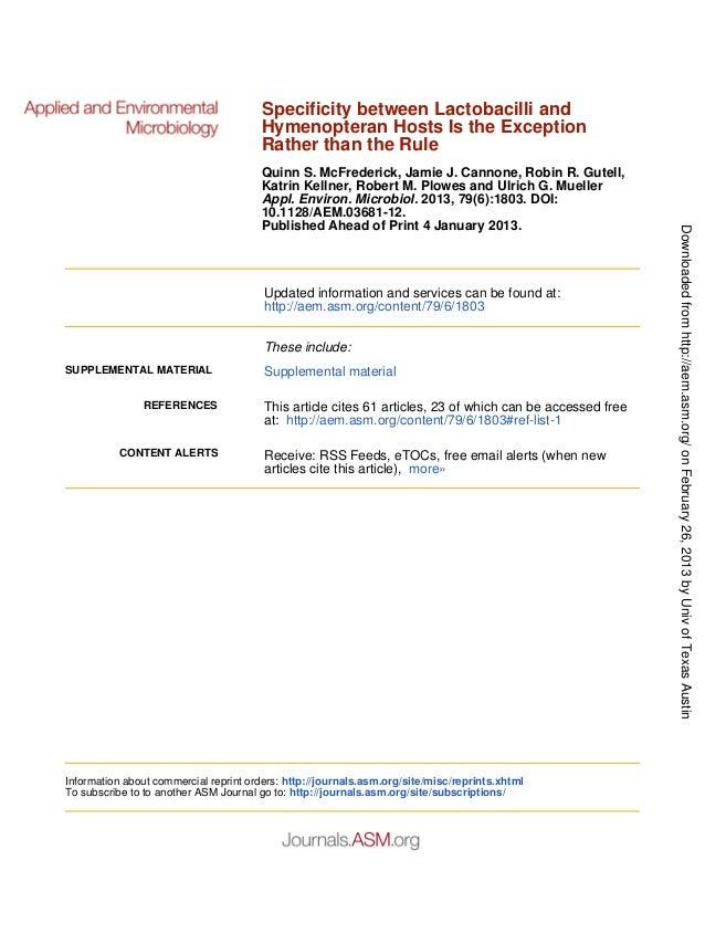 Published Ahead of Print 4 January 2013.10.1128/AEM.03681-12.2013, 79(6):1803. DOI:Appl. Environ. Microbiol.Katrin Kellner...