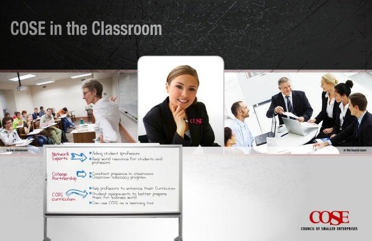 COSE in the Classroom Concept Board