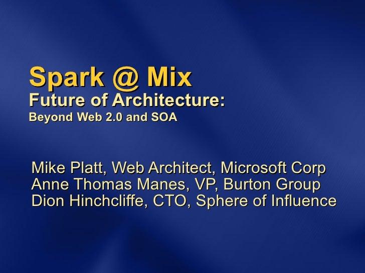 SPARK @ Mix: Workshop Discussion