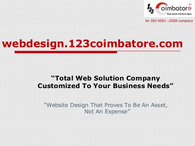 Web Design Coimbatore (123Coimbatore)