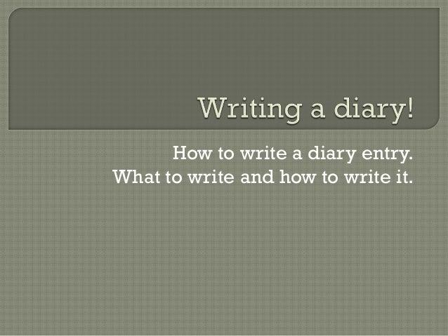 essay entries