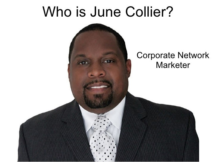 Who is June Collier?