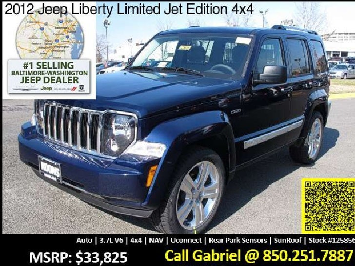 27 951 new 2012 jeep liberty limited jet edition 4x4 125856. Black Bedroom Furniture Sets. Home Design Ideas